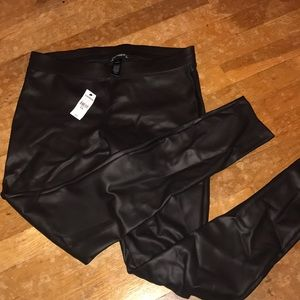 NEW Express Faux Leather Leggings